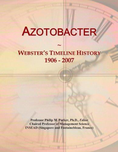 Azotobacter: Webster's Timeline History, 1906 - 2007