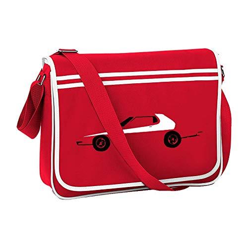 GRAN TORINO - Iconic US motor car- Men's retro messenger bag