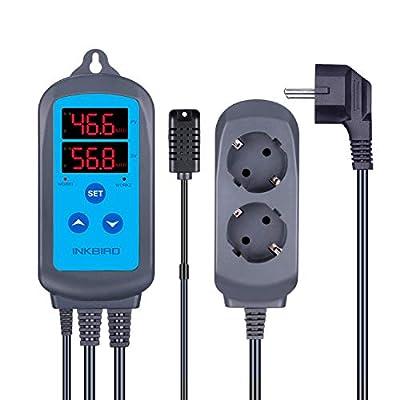 Inkbird ITC-306T 220V Heizungs-Temperaturregler und IHC-200 Feuchtigkeitsregler