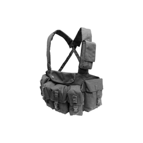 Condor CR Chest Rig with 7 Pouches, Black