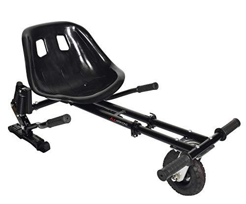 ARK-ONE Kart Tout Terrain pour Hoverboard Jeunesse Unisexe, Noir, Taille Unique