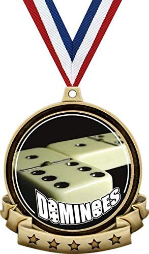 Fort Worth Mall Dominoes Medals - 2.5