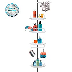 Vailge Adjustable Constant Tension Corner Shower Rack