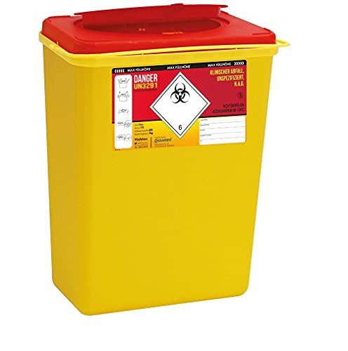 Kanülenabwurfbehälter 193530 11,0 Ltr. von carmesin.com Safe-Box