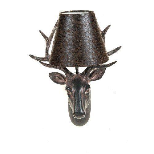 pajoma wandlamp Rorwild hert, kunsthars, hoogte 45 cm