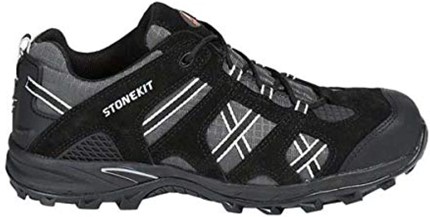 Enyellowert Strauss Portland 8P93.53.0.38 Safety shoes Size 38 Black Asphalt