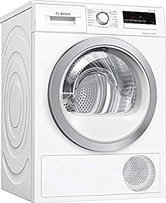 Bosch WTW85231GB Serie 4 Freestanding Heat Pump Tumble Dryer, 8kg load, White