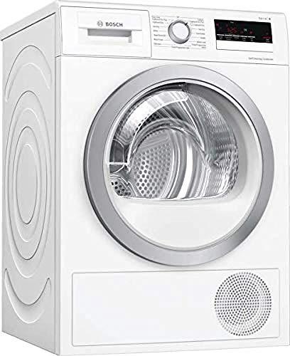 Bosch WTW85231GB Serie 4 Freestanding Heat Pump Tumble Dryer, 8kg load, White
