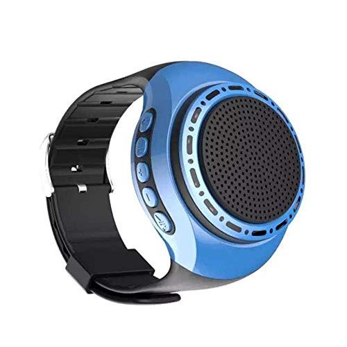 TIANYOU Mini Altavoces Bluetooth Altavoz Bluetooth Portátil, Reloj Subwoofer de Alto Volumen Running Tarjeta de Deportes Altavoz 3D Surround Hogar Al Aire Libre Portátil Ponente Vid