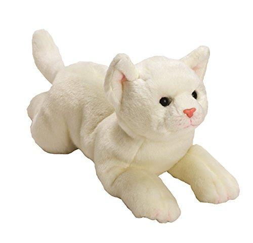 Yomiko 12071 - Suki Gifts Plüschtier Katze, 36 cm, weiß