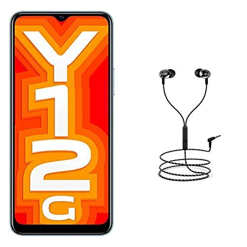 Vivo Y12G (Glacier Blue 3GB RAM, 32GB Storage) with No Cost EMI/Additional Exchange Offers + Boat Rockerz 245v2 Wireless Bluetooth (Active Black)
