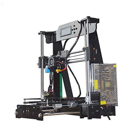 Z.L.FFLZ Imprimante 3D P802M DIY 3D Printer Kit 220 * 220 * 240mm Format d'impression Soutien Off-Line Print 1.75mm 0.4mm Imprimante 3D