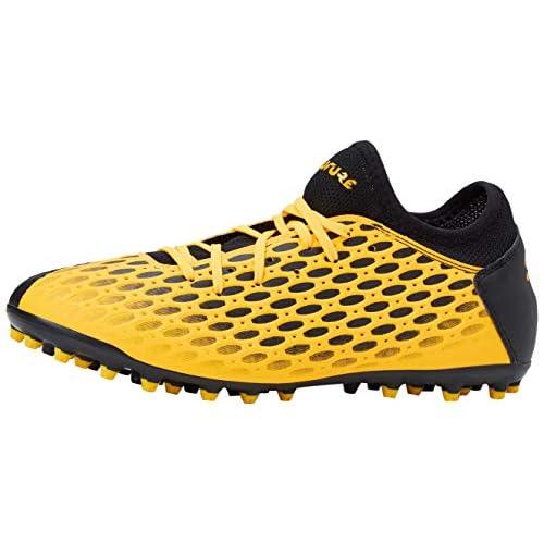 PUMA Future 5.4 MG, Scarpe da Calcio Uomo, Giallo (Ultra Yellow Black), 46 EU