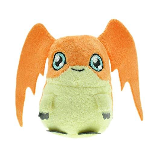 N / A Digimon Plüschtiere Agumon Gabumon Gomamon Biyomon Palmon Patamon Digitale Monster Gefüllte Puppen für Kinder Geschenk 12CM