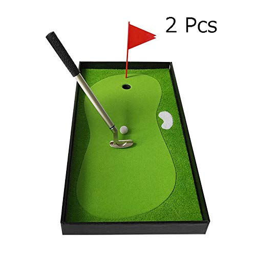 Why Should You Buy Golf pen Metal Pen Desktop Golf Gift Set Creative Mini Golf Club Multi-function G...