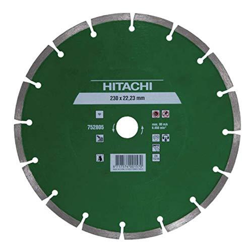 Hikoki tools 752802 - Disco diamante segmentado 125x22,2x7mm