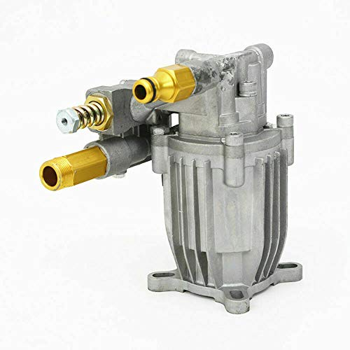 """DYRABREST 3000PSI 2.5GPM Cold Water Pressure Washer Pump, Head Replacement Pump for Excell Devilbiss 2002CWT Gas Power Water Pump Fits 3/4"""" Horizontal Crank Shaft Engines"""