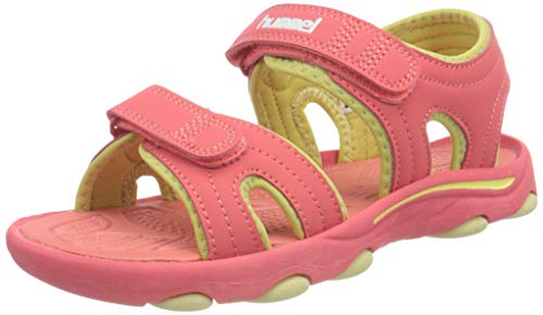 hummel Unisex-Kinder Sandal Wave JR Sneaker, Tea Rose,36 EU