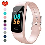 PUBU Fitness Tracker HR, Activity Tracker Watch with Heart Rate Monitor, Waterproof Smart