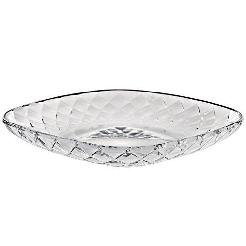 Assiette en verre, Assiette décorative, Salade plate, Panier à fruit, Collection\