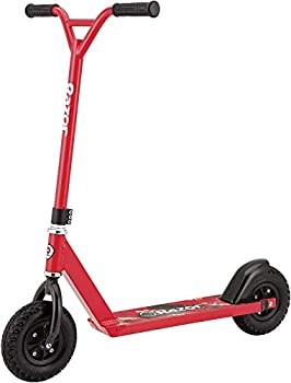 Razor Pro RDS Dirt Scooter – Pneumatic Tires Heavy Duty Aluminum Frame Off-Road Scooter for Riders Up to 220 lbs