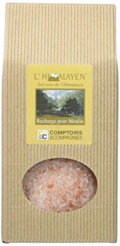 COMPTOIRS ET COMPAGNIES Recharge Moulin Gros Sel Rose de l'Himalaya, 1 kg