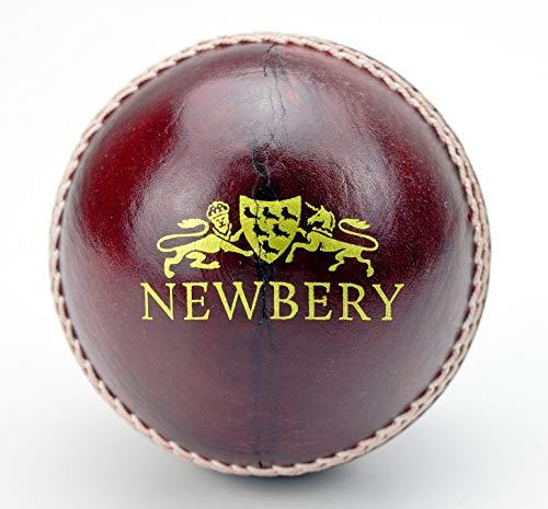 Newbery Cricket 005060499101737/YR3 Pelota de Críquet, Unisex-Adult, Rojo, 5 Oz