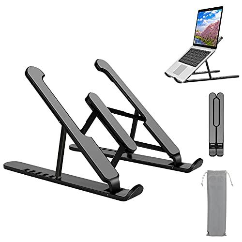 Supporto PC Portatile, Supporto Tablet regolabile Porta PC con raffreddamento ventilato compatibile con MacBook, Lenovo, Dell, altri laptop da 10-15,6 '