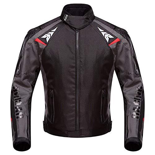 LMM Double-Layer-warmes Outdoor-Motorrad Radjacke, Wind- und im Winter warm, kältebeständig und geeignet für Männer im Freien Radfahren im Winter,XXL