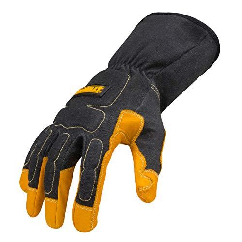 Dewalt Premium MIG/TIG Welding Gloves, Gauntlet-Style Cuff, Large