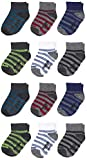 Non-Slip Grip - The perfect socks for new walkers; Better traction prevents slipping on smooth surfaces Comfort Toe Seam - Increase your little one's comfort with this smooth, sleek, seamless design that is virtually undetectable to little toes Perfe...