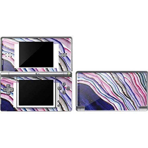 Skinit Decal Gaming Skin Compatible with DS Lite - Officially Licensed Originally Designed Violet Watercolor Geode Design