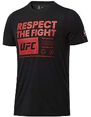 Reebok UFC Fg Text Tee atlet Erkek