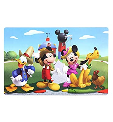 NEILDEN Puzzles for Kids in a Metal Box 60 Piece Jigsaw Puzzle for Kids Ages 4-8 Puzzles for Girls and Boys Great Gifts for Children (Mickey Mouse)