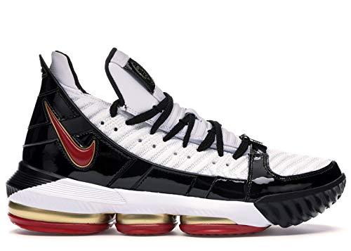 Nike Herren Lebron XVI Sb Basketballschuhe, Mehrfarbig (White/Comet Red/Black 101), 45 EU