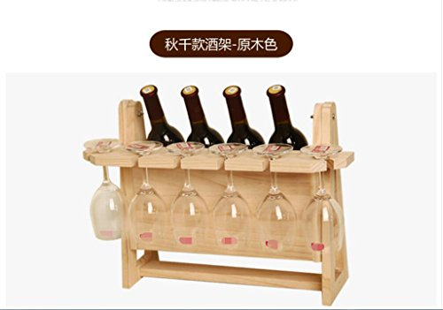 HBDFBVDKJDSJ Kreative Weinregal, Flaschenregal, Wein Cupholder den Kopf stemware Regale, Weinregale, Weinkühler Weinregal, Dekoration