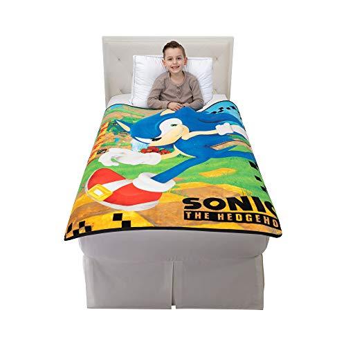 "Franco Kids Bedding Super Soft Micro Raschel Throw, 46"" x 60"", Sonic"
