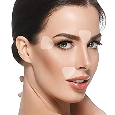 Blumbody Wrinkle Patches for Face - 160 Triangle Wrinkle Remover Strips for Smoothing Eye, Mouth or Forehead Wrinkles - Reusable Facial Wrinkle Patches that work as Anti Wrinkle Treatment Overnight from BLUMBODY