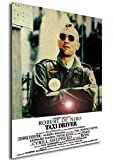Instabuy Poster Taxi Driver - Theaterplakat- A3 (42x30 cm)