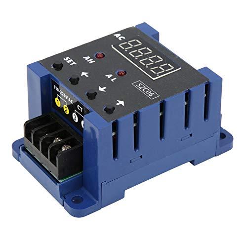Amperímetro digital práctico de alta precisión, amperímetro, duradero para monitoreo de corriente en tiempo real Mide la corriente del circuito eléctrico(50A)