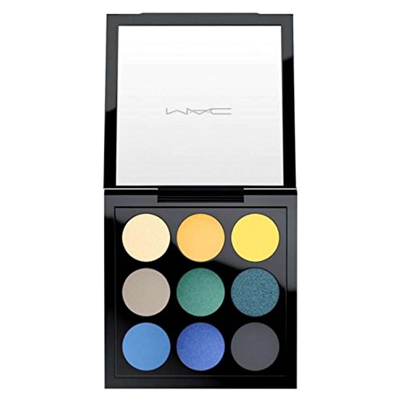 落ち着いて更新行商M.A.C ?マック, Tropical Cool Times Nine Eyeshadow Palette トロピカルクールタイムズナインアイシャドウパレット [海外直送品] [並行輸入品]
