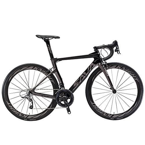 SAVADECK Phantom 2.0 700C Bicicleta de Carretera de Fibra de Carbono...