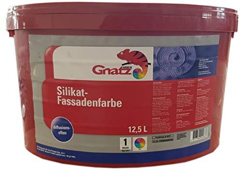 GNATZ siliconen gevelverf wit mat 12,5 liter