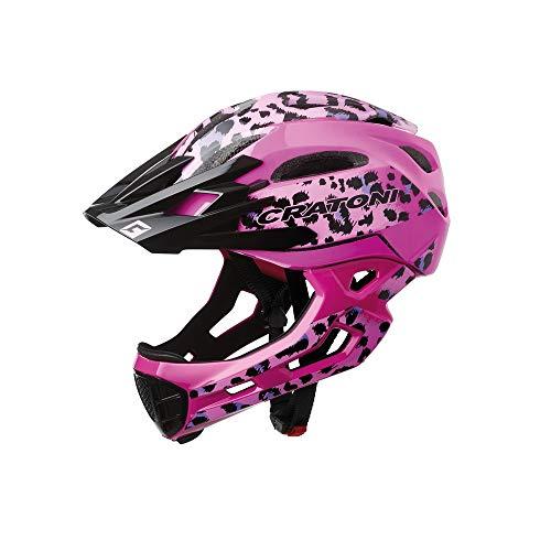 Cratoni C-Maniac Pro MTB Helm Leo/pink Gloss Kopfumfang M/L | 54-58cm 2020 Fahrradhelm