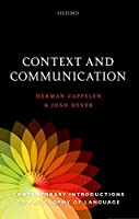 Context and Communication (Contemporary Introductions to Philosophy of Language)
