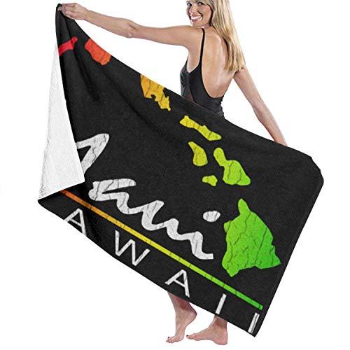 N / A Toallas De Baño,Natación Toalla Deportiva,Manta De Baño,Toallas De Bañobe,Toalla De Playa,Toalla De Playa Maui Hawaiian Islands