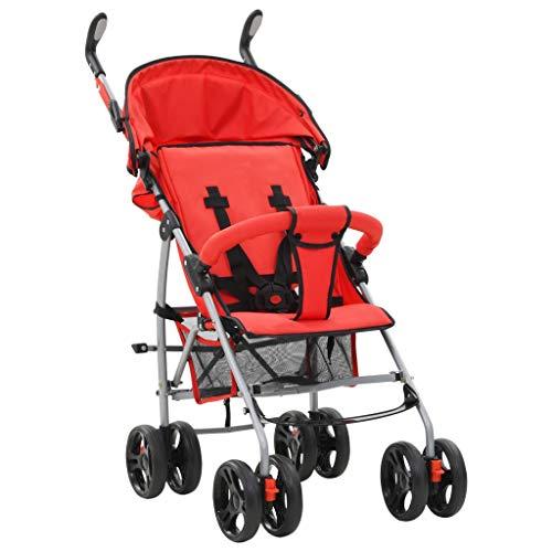 Klappbar Kinderwagen, Leichter Kindersportwagen, 2-in-1 Buggy, Kompakt, Leicht, Geeignet für Kinder unter 15 kg Babyschale