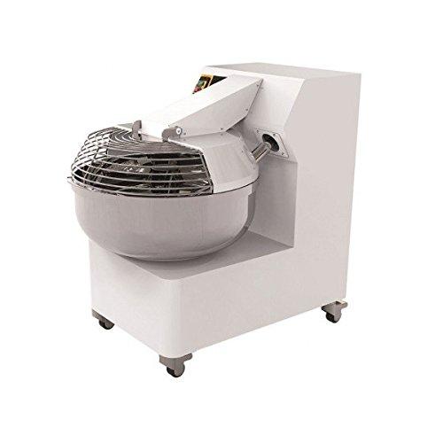 Amasadora de horquilla PF alimentación trifásica 2 velocidades Capacidad cubeta 40 l peso masa 35 kg