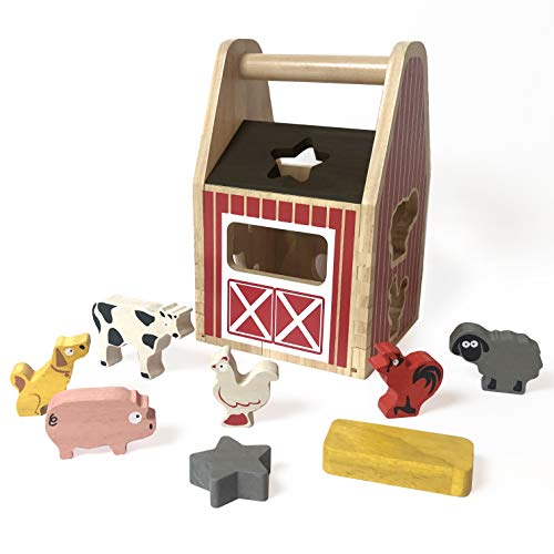 Top 10 best selling list for barn with 8 animals toy