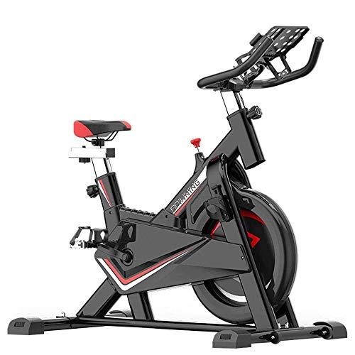 Hometrainer, traploos Resistance aanpassing Balance instelinrichting, volledig omgeven vliegwiel, met comfortabel zitkussen